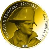 100 Francs CFA (Napoleon Bonaparte) – revers