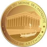 100 Francs CFA (Temple of Artemis) – revers
