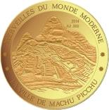 100 Francs CFA (Machu Picchu) – revers