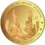 100 Francs CFA (Chichen Itza) – revers
