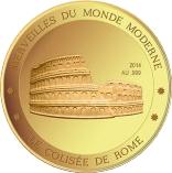 100 Francs CFA (Colosseum) – revers