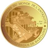 100 Francs CFA (Hanging Gardens of Babylon) – revers