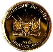100 francs CFA - Kiwi – avers
