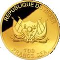 100 Francs CFA (Elephant) – avers