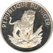 10 francs (petit module) – revers