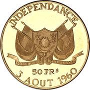 50 francs (Indépendance) – avers