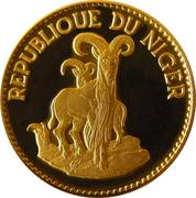 25 Francs (mouflons) – revers
