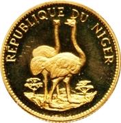 10 Francs (Autruches) – revers