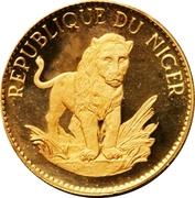 50 Francs (Lion) – revers