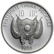 10 Francs (Lion ; type large) – avers