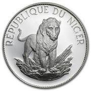 10 Francs (Lion ; type large) – revers