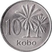 10 kobo -  revers