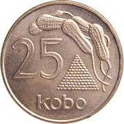 25 kobo (acier plaqué cuivre) – revers