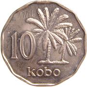 10 kobo – revers