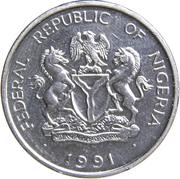 1 naira – avers