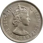 2 Shillings Elizabeth II – avers