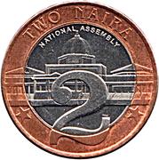 2 naira – revers