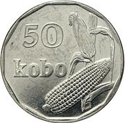 50 kobo (petit module) – revers