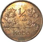 ½ kobo -  revers