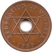 1 penny Elizabeth II – revers