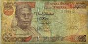 100 Naira – avers
