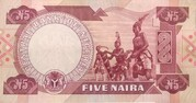 5 Naira – revers
