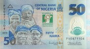 50 Naira (50th Anniversary of Independence) – avers