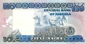 50 Naira – revers