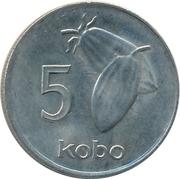 5 kobo – revers