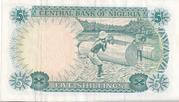 5 Shillings ND (1968) – revers