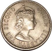 6 pence Elizabeth II – avers