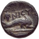 Bronze Æ10 (Nisyros) – revers