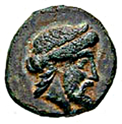 Bronze Æ11 (Nisyros) – avers