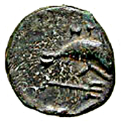 Bronze Æ11 (Nisyros) – revers