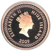 10 cents - Elizabeth II (3° effigie) – avers