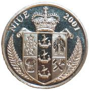 1 dollar Elizabeth II (Bulbasaur) – avers
