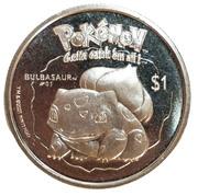 1 dollar Elizabeth II (Bulbasaur) – revers