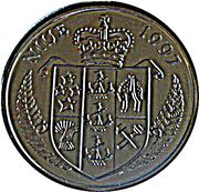 1 Dollar (Princess Diana) – avers