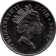 1 dollar Elizabeth II (Peanuts) – avers