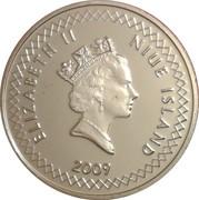 50 cents Elizabeth II – avers