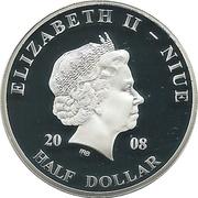 ½ Dollar - Elizabeth II Pope John Paul II in Slovenia – avers