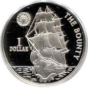 1 dollar (le bounty) – revers
