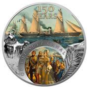 1 Dollar - Elizabeth II (150 years of the Suez Canal) – revers