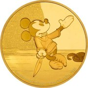 250 Dollars (Mickey Mouse. Brave Little Tailor) -  revers