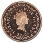 5 cents - Elizabeth II (3° effigie) – avers