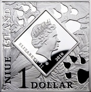 1 dollar Elizabeth II (Antilocapra americana) -  avers