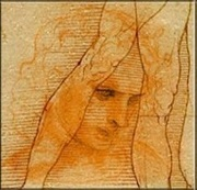 1 Dollar (24 coins of 1 $. DaVinci drawing) -  revers