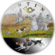 50 Cents - Elizabeth II (Hunting) – revers