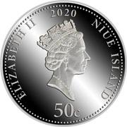 50 Cents - Elizabeth II (Time is Money) – avers