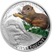 1 Dollar - Elizabeth II (Ground Squirrel) -  avers